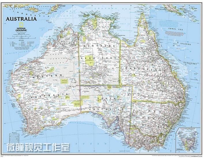 2015 travel map australia map english wall decorative ausralian plat home decorate map of australian