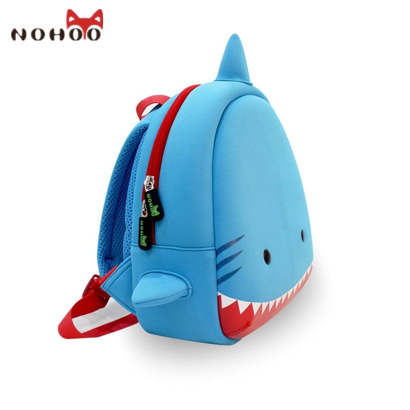 NOHOO US Stock Animals Kids Baby Bags 3D Shark Waterproof Children ...