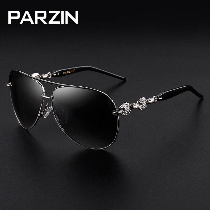 Parzin Handmade Strass Polarisierte Sonnenbrille Frauen Luxus - Bekleidungszubehör - Foto 6