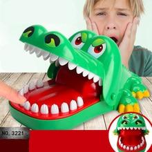 Large Crocodile Mouth Dentist Bite Finger Game Funny Novelty Gag Toy for Kids Children 1 set billiards toy novelty funny board game mini billiards children game toy kids toy
