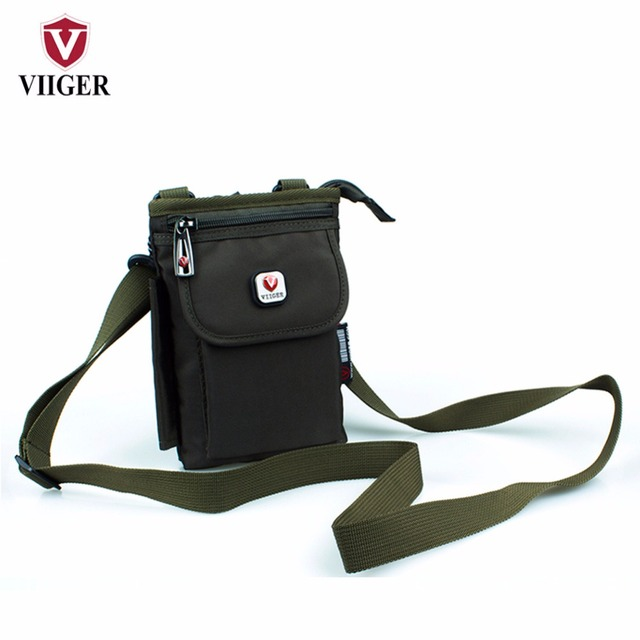 VIIGER Mens Waist Bag Shoulder Bag Male Fanny Packs Belt Bag Waist Pack Hip Purse Bumbag Money Belt Loops Phone Case Waist Pouch