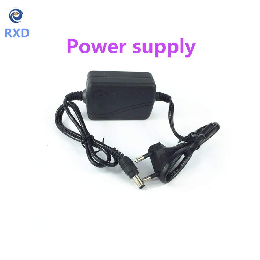 EU Type AC 100-240V to DC 12V 2A Power Supply CCTV Camera LED Strip AC/DC Adapters Power Plug Adaptor 5.5x2.1mm 5 pcs panel mounting us eu type female power supply plug 10a ac 250v