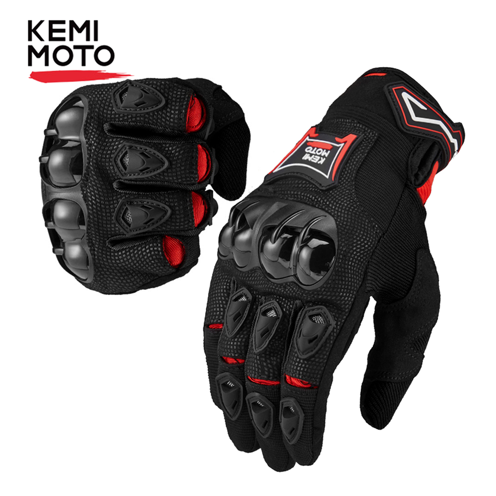 Kemimoto Motorcycle-Gloves Guantes Protective-Gear Full-Finger-Touchscreen Racing