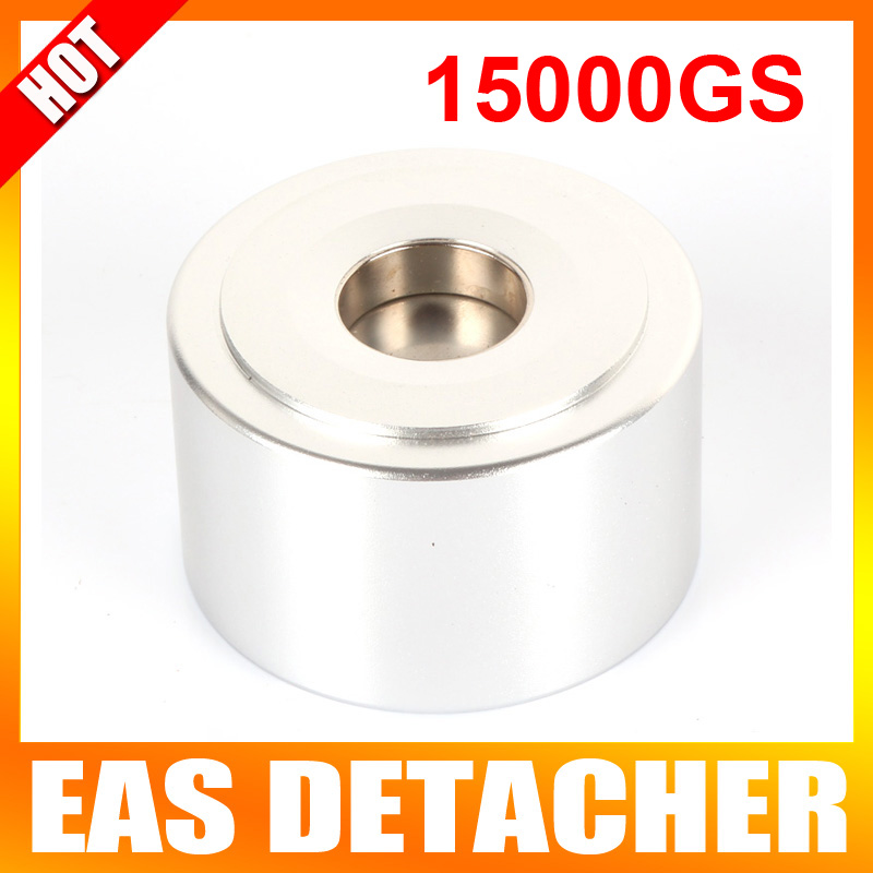 Strong Detacher Magnetic Force 15 000GS Security Detacher Tag Remover EAS System Color Silvery