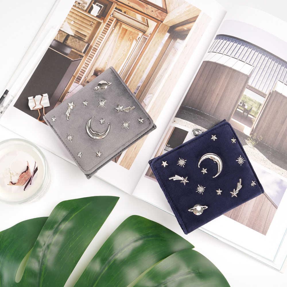 12bbee946fcd ... Для женщин бархатный кошелек женский тонкий кошелек Короткие Small из  искусственной кожи Изменить держатель для карт ...