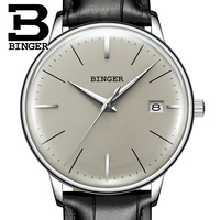 BINGER Mechanical Men Watch Luxury Brand Mens Automatic Watches Sapphire Wristwatches Male Watch Waterproof Reloj Hombre