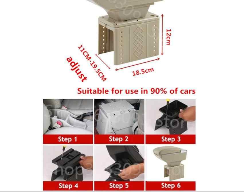フォードフォーカス 3 アームレストボックス中央店コンテンツフォーカス mk3 armres ボックスとカップホルダー灰皿 USB インタフェース汎用モデル