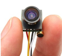 600TVL 1/4 CMOS de 1.8mm FPV 170 Grados Lente Gran Angular Cámara PAL/NTSC 3.7-5 V + número de seguimiento