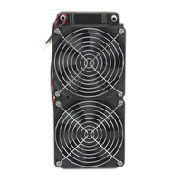 ANENG NEW Computer Accessories 1pc 240mm Aluminum Computer Radiator Water Cooling Cooler 2 Fans For CPU