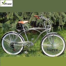 New X Front brand 24 26 inch retro bike 7 speed Harley commuter beach road bicycle