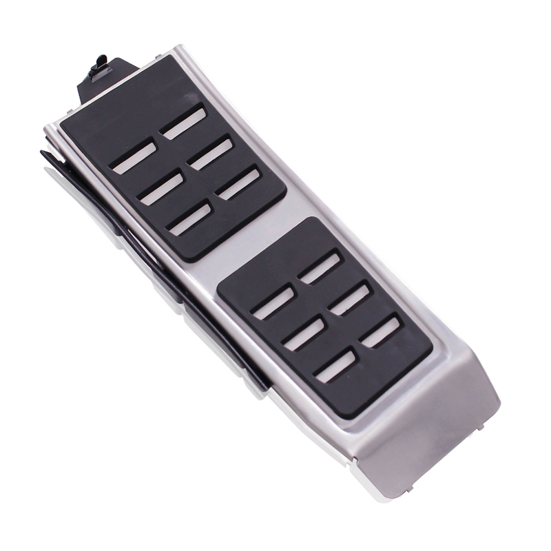 Footrest pedal Fit for Audi A4 B8 S4 RS4 Avant 8K Allroad Quattro A5 S5 RS5 8T Q5 8R SQ5 A6 C7 S6 4G A8 S8 A8L 4H Cover Pads