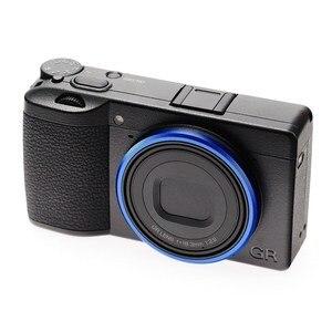 Image 2 - Original Blue Lens Ring ONLY for Ricoh GR3 /GRIII