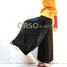 Бесплатная доставка Модные раза чистый цвет Ширина Высокая талия высота брюки ноги в наличии