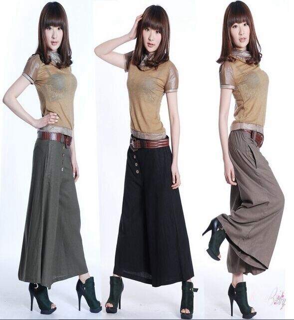 Popular Gaucho Pants-Buy Cheap Gaucho Pants lots from China Gaucho ...