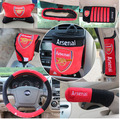 10 pcs / set steering wheel covers for football team pattern Automotive supplies automotive interior decoration team