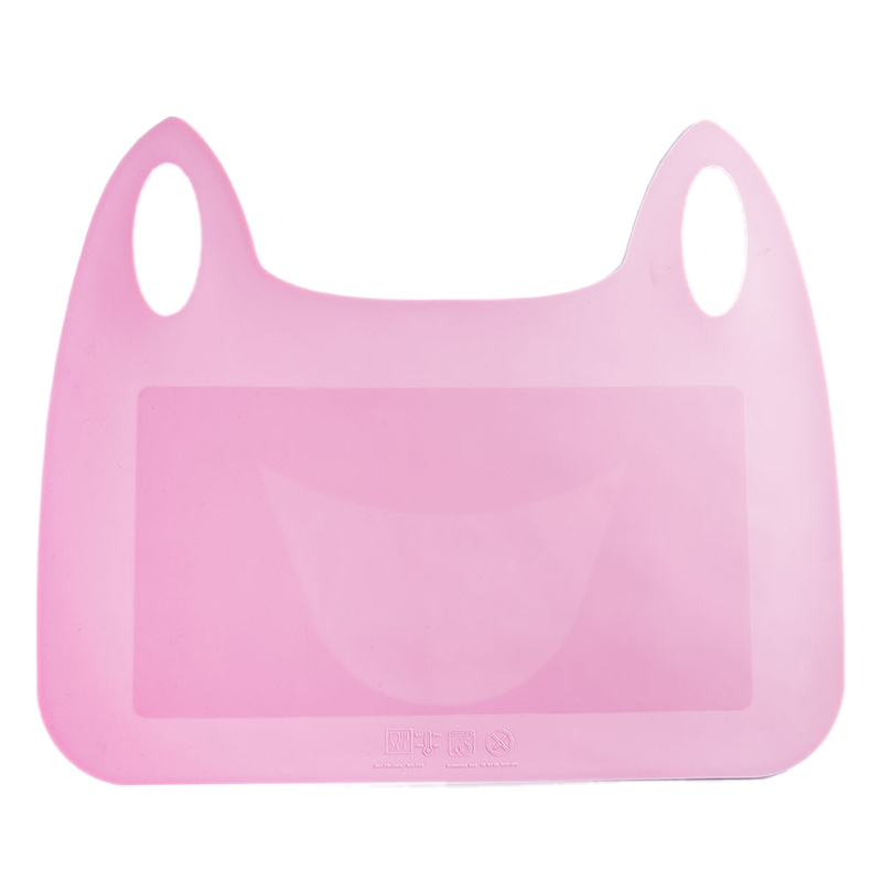 Baby Silicone Table Mat Infant Cat Shape Plate Placemat Antiskid Design Toddler Water Proof Pads Children Soft Tableware T0632