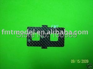 F00454 1Pcs Carbon Fiber Battery mounting plate For  T-REX 450 SE V2 Rc Helicopter+ FS