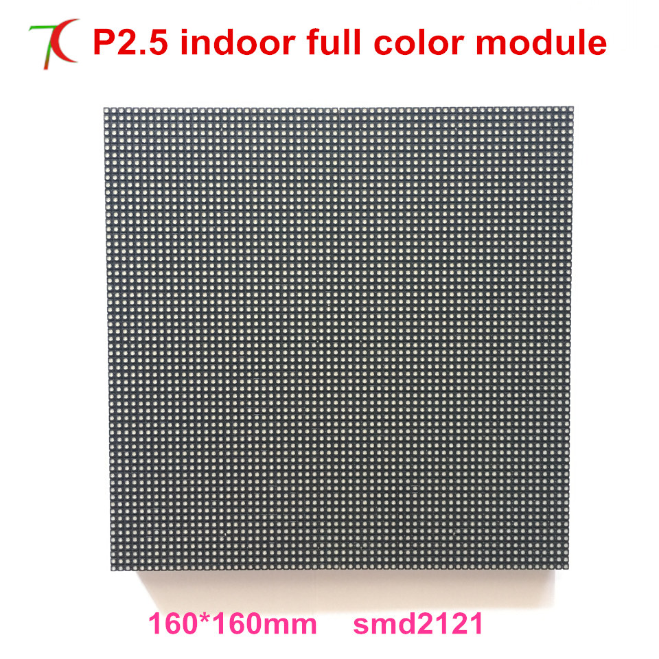 P2.5 Indoor High Refersh Full Color Led Screen Display Panel For High Defination Led Video Wall