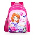 2016 Sofia Princess School Bags For Girls High Quality Children Backpack Cartoon Primary School Backpack Mochila Infantil