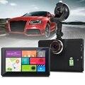 7 Inch Car DVR GPS Navigator Android 1080P Dash Cam GPS Navigation Portable Travel Bluetooth WIFI AV-IN Dashcam GPS Free Maps