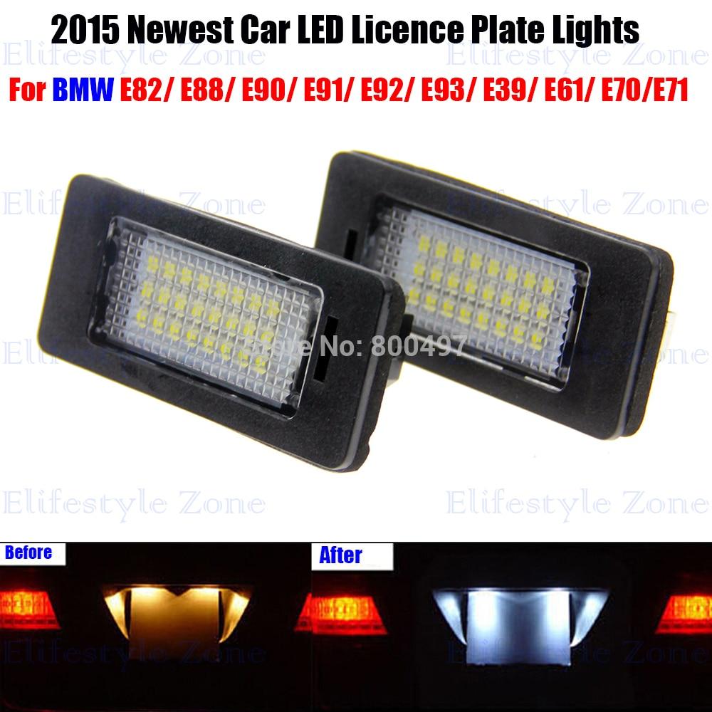 Online Get Cheap E39 License Plate Light Aliexpresscom  Alibaba