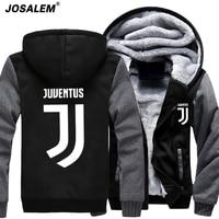 XXXXL Hoodie 2017 Fashion Anime Juventus Cosplay Jacket Men New Winter Warm Fleece Hooded Sweatshirts Man