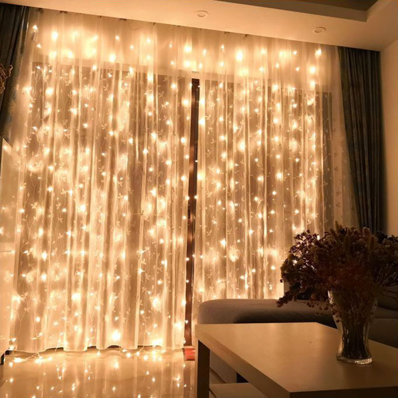 BRIGHT SHINY  DECRORATION LED CURTAIN