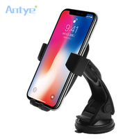 Multi Funtion Qi Wireless Car Charger Phone Mount Holder Fast Charging For Samsung Galaxy Note5 S6 S7 S8 Edge Plus iPhone8 Plus