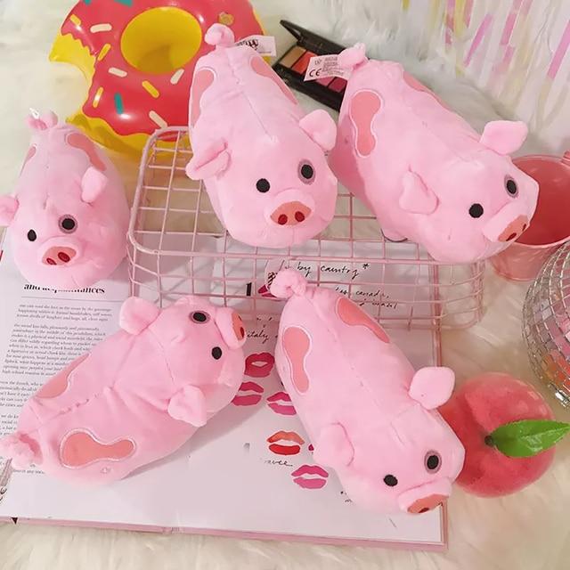 Boneca De Pelúcia rosa Porco Encantador Dos Desenhos Animados Brinquedos de Pelúcia Mini Pink Pig Dolls Bichos de pelúcia & brinquedos De Pelúcia De Aniversário do Dia das Crianças festival Presente