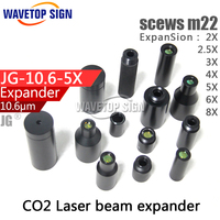 CO2 Laser Beam Expander 2times 3times 4times 5times Fixed Series 10 6um 2X 2 5X 3X
