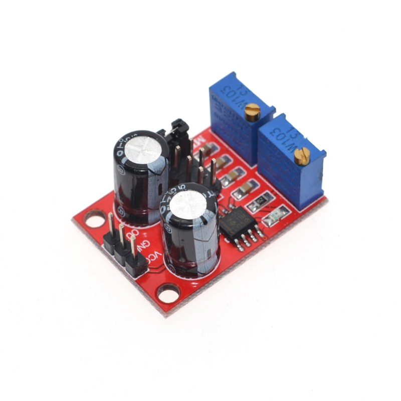 Active Components Integrated Circuits Duty Cycle Adjustable Module,square/rectangular Wave Signal Generator,stepping Motor Driver Modern Design 1pcs Ne555 Pulse Frequency