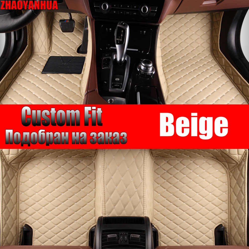 Automobiles & Motorcycles Car Floor Mats For Chevrolet Camaro All Weather 5d Car-styling Waterproof Carpet Liners 2010- Floor Mats