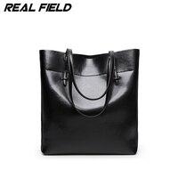 Fashion Women Pu Leather Handbags Black Bucket Tote Bags Ladies Cross Body Bags Large Capacity Ladies Casual Shopping Bag 282A