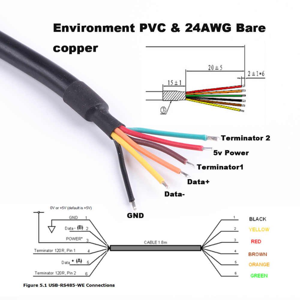 Usb Rs485 Converter Cable We Pinout Raspberry Pi Rs485