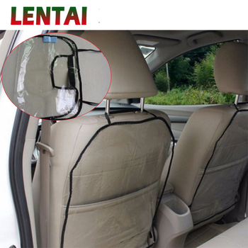LENTAI 1PC Car Seat Back Children Anti Kick Mat Cover For Mercedes Benz W203 W204 W211 Volvo S60 XC90 XC60 S80 Subaru Forester image