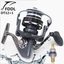 FDDL 9000-10000 full metal Snake pattern 12 + 1 without clearance bearings Long shot spinning Gapless structure fishing reel