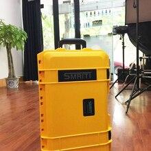 510*290*195 мм водонепроницаемый чехол на колесиках чехол для инструментов защитный чехол для камеры коробка для оборудования с предварительно вырезанной пеной