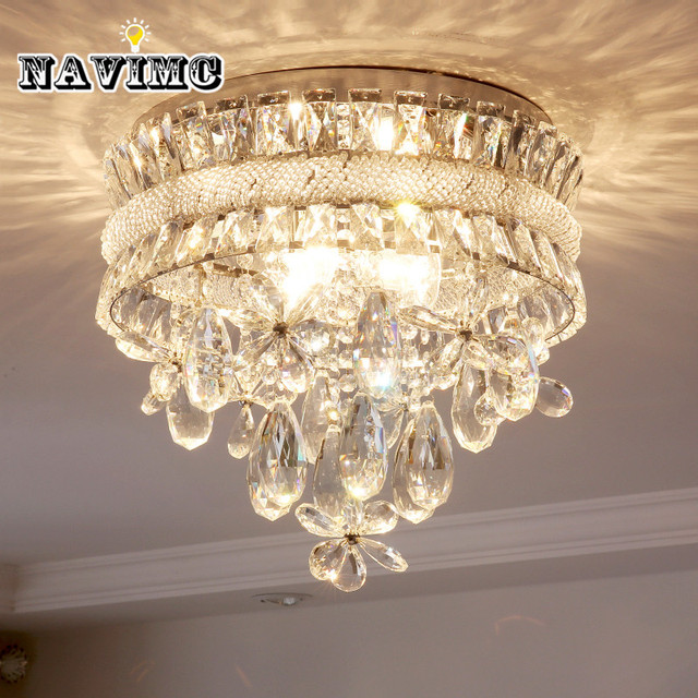 competitive price 831a7 35491 Modern Led Crystal Flower Chandeliers Lighting for Dining Room Kitchen  Bedroom Bathroom Ceiling Lamp-in Chandeliers from Lights & Lighting on ...