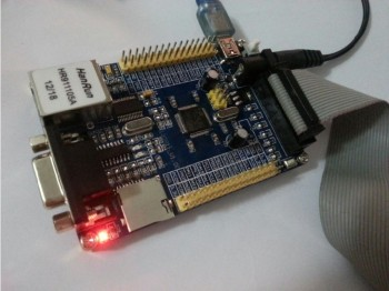STM32F103RCT6 Development Board + ENC28J60 Network Module Ethernet To Serial RS232 LWIP