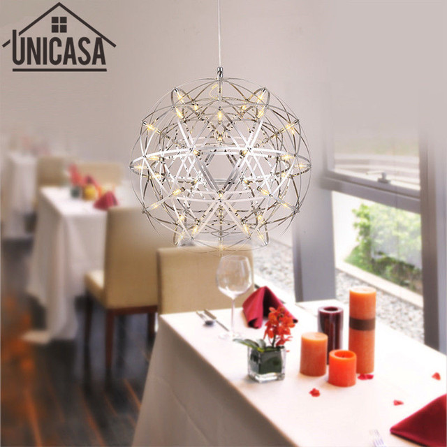 Modern Pendant Lights Multiple Rod Ceiling Lamps Wrought Iron Vintage Lighting LED Lamp Fixtures Living Room