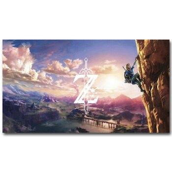 Шелковый Плакат Гобелен Легенда О Зельде Арт в ассортименте 4