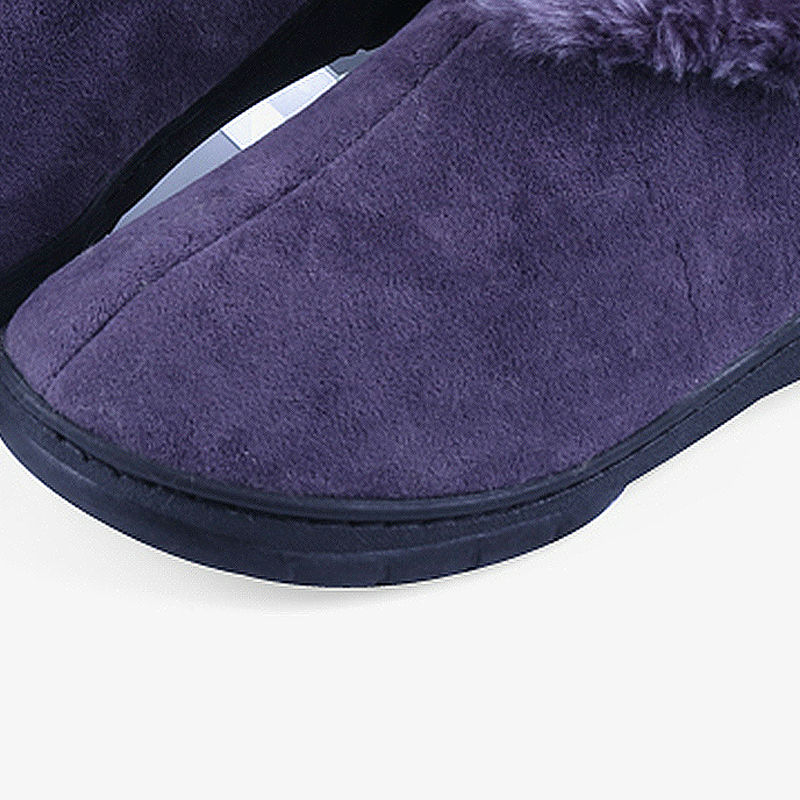 Heren Winter Soft Slippers Pluche Heren Thuis Schoenen Indoor Man - Herenschoenen - Foto 6