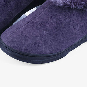 Image 5 - Men Winter Soft Slippers Plush Male Home Shoes Indoor Man Warm Slippers Shoes
