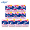 100% Soft Cotton Lady Menstrual Pads With Wings Sanitary Napkin Scented Whisper Women Pads Day Use 240mm Regular Flow 10pads*10