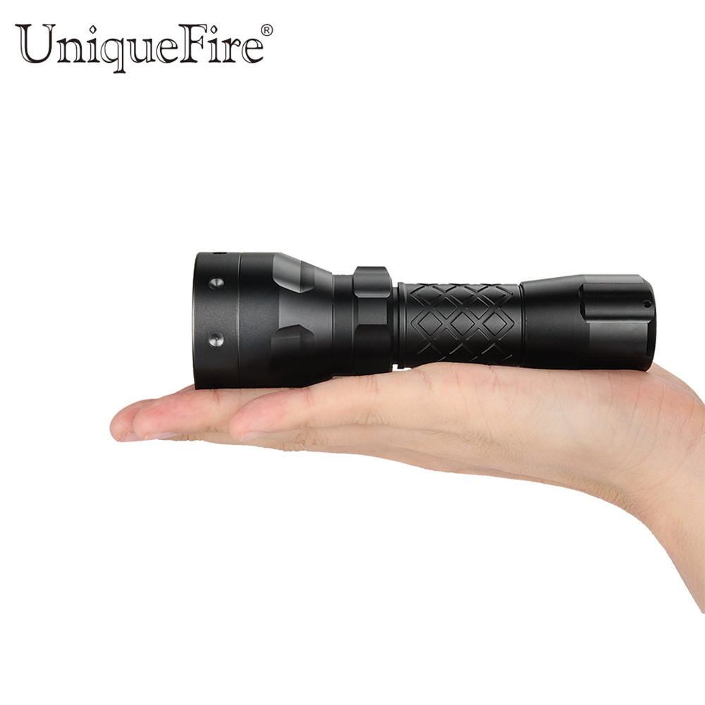 UniqueFire 1407 IR 940NM LED Flashlight Torch 3 Modes 30mm Lens Zoomable Flashlight Night Vision Lantern Rechargeable Lamp uniquefire uf 1407 mini 850 ir led zoomable flashlight 3 modes 30mm convex lens torch camping light for 1x 18650 battery