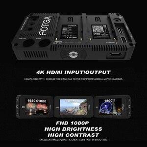 """Image 5 - FOTGA A50T 5 """"FHD וידאו על מצלמה מגע מסך שדה צג עבור sony עם חם/קר נעל הר מתאם 3/8 Inch M6 מתאם"""