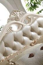F81105 современная мебель для спальни заводская цена французском стиле, деревянная кровать