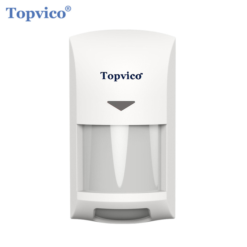 Topvico Zwave Motion Detector Sensor Alarm Z-wave Z Wave Wireless Infrared Motion Sensor Smart Home Automation Security Systems
