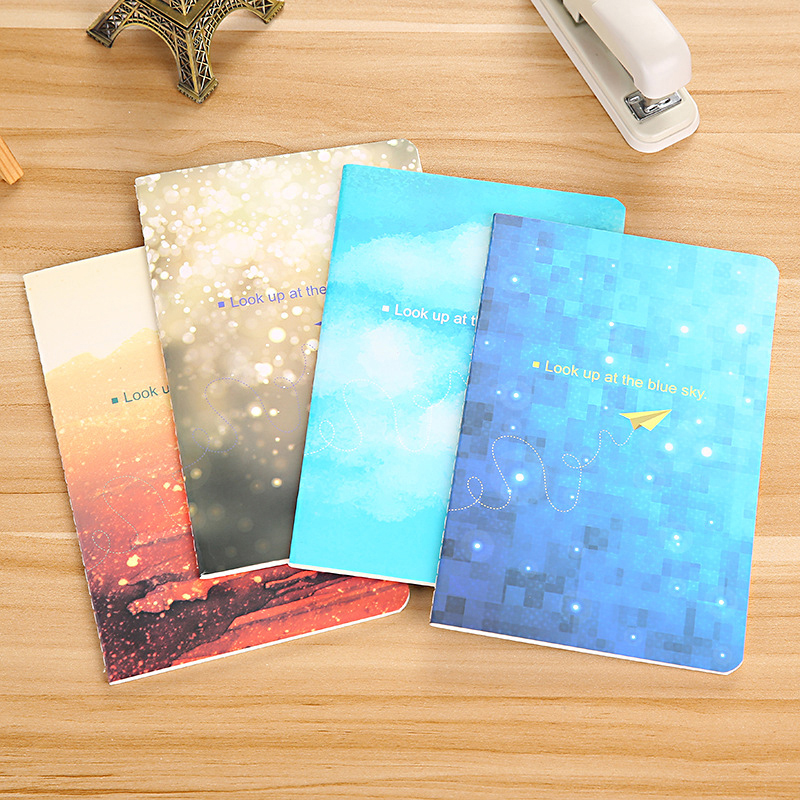 A5 Schedule Book Diary Notebook School Office Supplies Stationery 30 Pages