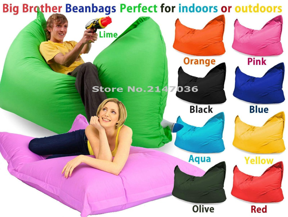 Tremendous Us 50 0 Big And Large Size Bean Bag Chair Outdoor And Indoor Beanbag Sofa Lounges In Cushion From Home Garden On Aliexpress 11 11 Double Camellatalisay Diy Chair Ideas Camellatalisaycom